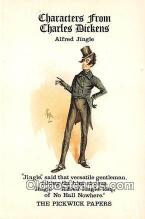 chd100026 - Reproductions - Characters from Charles Dickens Alfred Jingle, Pickwick Papers Postcard Post Card