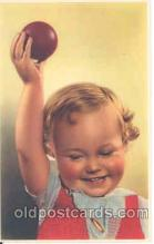 chi001027 - Child Children with Doll Dolls Postcard Post Card