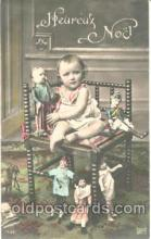chi001043 - Child Children with Doll Dolls Postcard Post Card