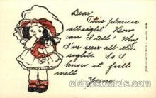 chi001098 - Children Postcard Post Card