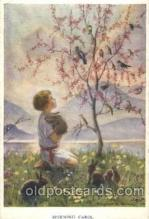 chi002107 - Artist Margaret Tarrant, Morning Carol Children, Child, Postcard Post Card