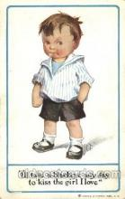 chi002108 - Artist Twelvetrees, C.T. Children, Child, Postcard Post Card