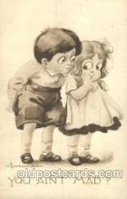 chi002121 - Artist Bernhard Wall Children, Child, Postcard Post Card