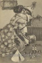 chi002126 - Het Afscheid Children, Child, Postcard Post Card