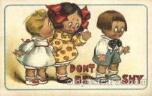 chi002207 - Dont be shy Children, Child, Postcard Post Card