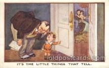 chi002226 - Artist Fred Spurgin Children, Child, Postcard Post Card