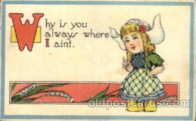 chi002317 - Old Vintage Antique Postcard Post Card