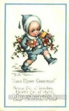chi002339 - Artist Welch SurrChild, Children Postcard Post Card