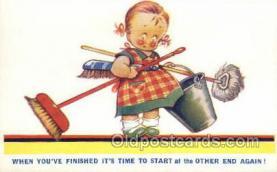 chi002365 - Children Child Old Vintage Antique Post Card Post Card