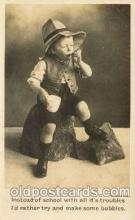 chi003036 - Child Children with Toy Toys Postcard Post Card