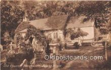 chr001018 - Churches Vintage Postcard
