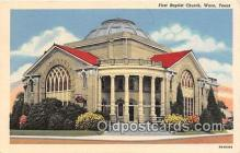 chr001019 - Churches Vintage Postcard