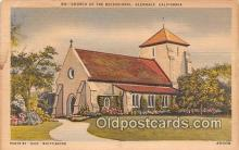 chr001069 - Churches Vintage Postcard