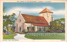 chr001088 - Churches Vintage Postcard
