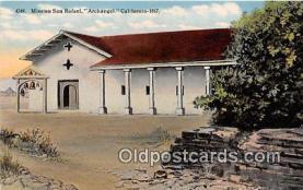Mission San Rafael Archangel, 1817