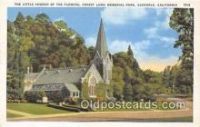 chr001119 - Churches Vintage Postcard