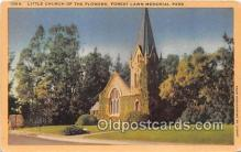 chr001137 - Churches Vintage Postcard