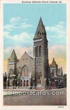 chr001210 - Churches Vintage Postcard