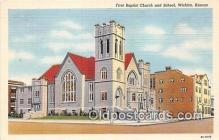chr001254 - Churches Vintage Postcard