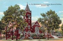 chr001265 - Churches Vintage Postcard