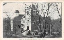chr001281 - Churches Vintage Postcard