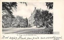 chr001374 - Churches Vintage Postcard