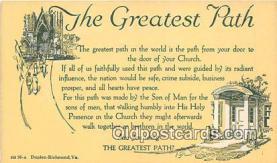 chr001409 - Churches Vintage Postcard