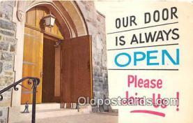 chr001410 - Churches Vintage Postcard