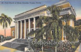 chs000001 - Churches Vintage Postcard