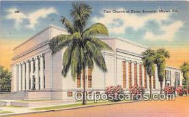 chs000002 - Churches Vintage Postcard