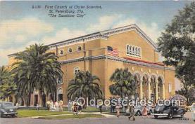 chs000004 - Churches Vintage Postcard