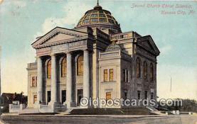 chs000009 - Churches Vintage Postcard