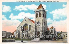 chs000010 - Churches Vintage Postcard