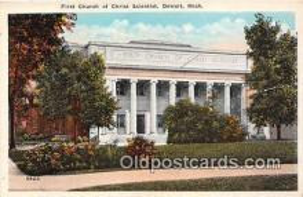 chs000022 - Churches Vintage Postcard