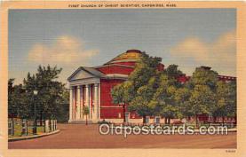 chs000027 - Churches Vintage Postcard