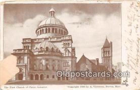 chs000065 - Churches Vintage Postcard