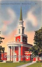 chs000071 - Churches Vintage Postcard