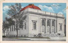 chs000072 - Churches Vintage Postcard