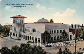 chs000113 - Churches Vintage Postcard