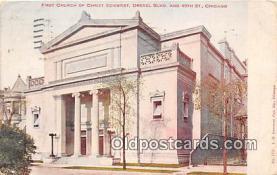 chs000183 - Churches Vintage Postcard
