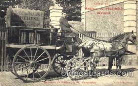 cir001011 - Barnum & Bailey Postcard Post Card advertising Macasin Du Pele/Mele Bethune on horse & buggy