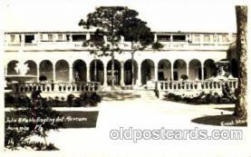 cir001020 - Barnum & Bailey Circus John & Mable Ringling Art Museum, Sarasota, Florida USA Real Photo Postcard Post Card