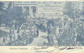 cir001037 - Ringling Bros.& Barnum & Bailey Circus Postcard Post Card