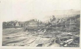 cir001038 - Barnum and Baileys Circus Fire, May 21, 1910, Schenecady, New York USA Postcard Post Card