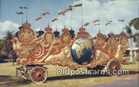 cir001043 - Circus Hall of Fame Circus Postcard Post Card Old Vintage Antique