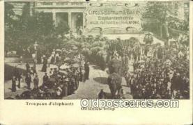 cir001047 - Circus Barnum & Bailey Circus Postcard Post Card Old Vintage Antique