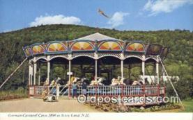 Merry Go Round, German Carousel Circa 1890