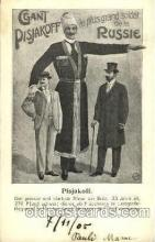 cir002066 - Pisjakoff, Tallest Person Postcard Post Card