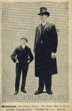 cir002082 - Machnow, the Russian Giant 9 feet 2 1/2 inches weight 360 LBS, Age 28,  Tallest Person Postcard Post Card