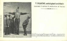 cir002084 - T. Dilkens, Tallest Person Postcard Post Card